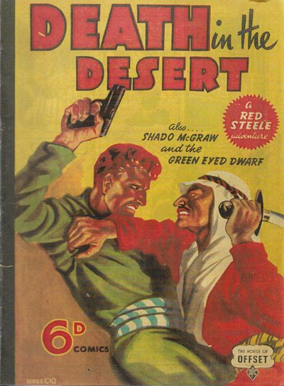 Death in the Desert (OPC, 1945?) #C10 ([March 1945?])