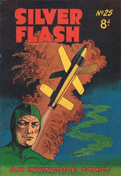 Silver Flash and his Frog-Men (Invincible, 1949 series) #25 ([June 1952?])