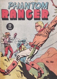 Phantom Ranger (Tricho, 1958 series) #184 — No title recorded (Cover)