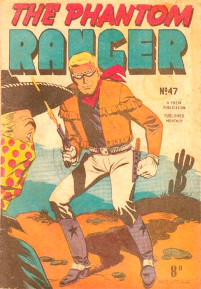 The Phantom Ranger (Frew, 1952 series) #47 ([August 1953?])