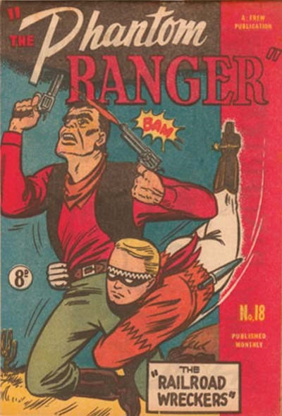 The Phantom Ranger (Western Promotions, 1950 series) #18 (March 1951)