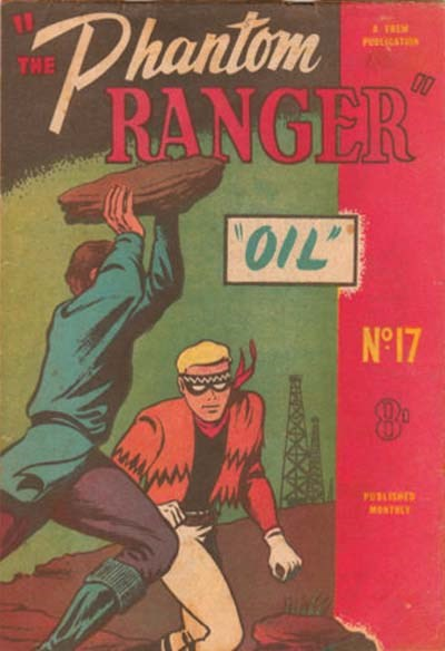 The Phantom Ranger (Western Promotions, 1950 series) #17 (February 1951)
