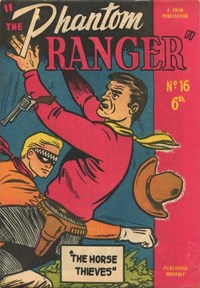 The Phantom Ranger (Western Promotions, 1950 series) #16 (January 1951)