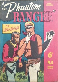 The Phantom Ranger (Frew, 1949 series) #11 ([August 1950])