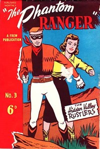 The Phantom Ranger (Frew, 1949 series) #3 ([December 1949])