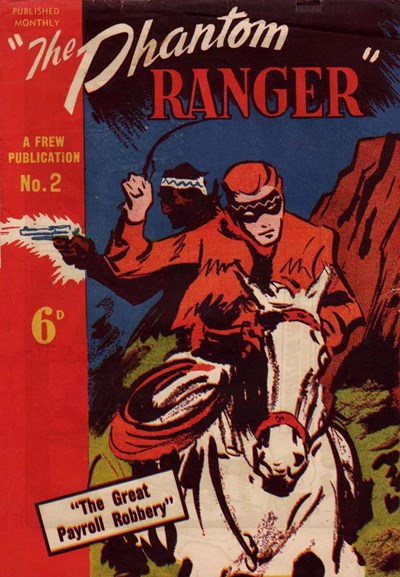 The Phantom Ranger (Frew, 1949 series) #2 ([November 1949])