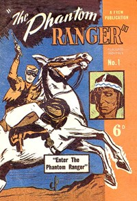 The Phantom Ranger (Frew, 1949 series) #1 ([October 1949])