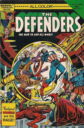 The War to End All Wars!—The Defenders (Federal, 1984? series) #6  ([1985?])