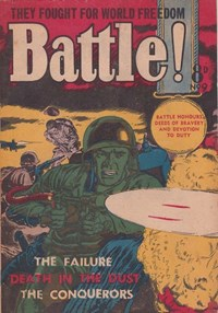Battle! (Transport, 1953 series) #9 ([March 1954?])