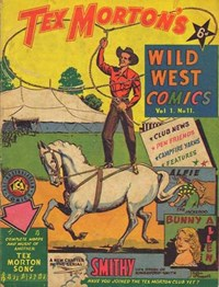 Tex Morton's Wild West Comics (Allied, 1947? series) v1#11 — Untitled