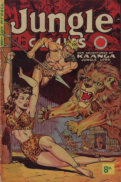 Jungle Comics (HJ Edwards, 1950? series) #10 ([July 1951?])