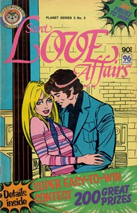 Planet Series 3 (Murray, 1980 series) #5 ([May 1980]) —Secret Love Affairs