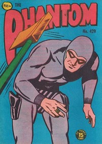 The Phantom (Frew, 1948 series) #429 — Untitled (Cover)