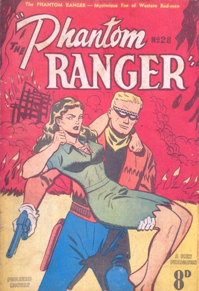 The Phantom Ranger (Western Promotions, 1950 series) #28 ([January 1952?])