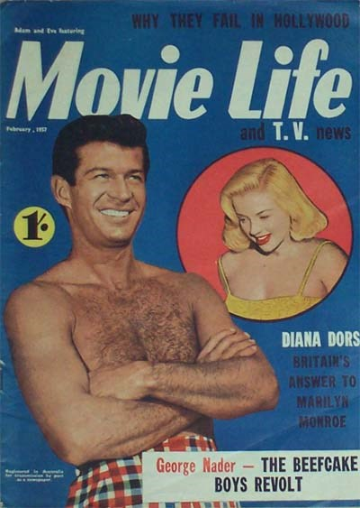 Adam and Eve Featuring Movie Life and T.V. News (Southdown Press, 1956 series) v11#8 (February 1957)