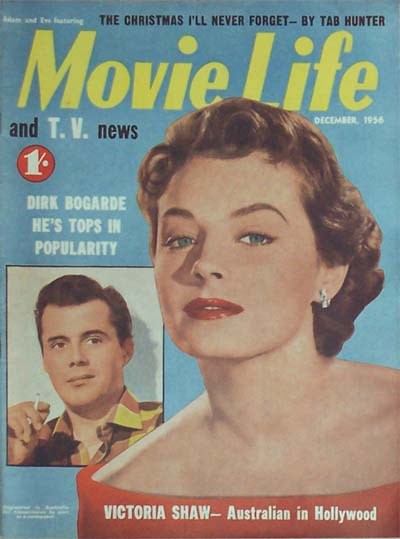 Adam and Eve Featuring Movie Life and T.V. News (Southdown Press, 1956 series) v11#6 (December 1956)