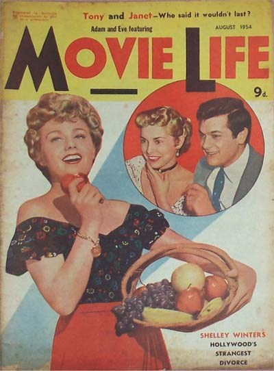 Adam and Eve Featuring Movie Life (Southdown Press, 1946? series) v8#2 (August 1954)