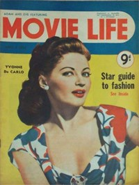 Adam and Eve Featuring Movie Life (Southdown Press, 1946? series) v5#10 (April 1952)