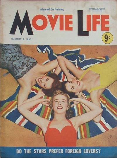 Adam and Eve Featuring Movie Life (Southdown Press, 1946? series) v6#7 (2 January 1953)