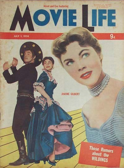 Adam and Eve Featuring Movie Life (Southdown Press, 1946? series) v8#1 (1 July 1954)
