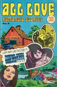 All Love Romantic Stories (Sport Magazine, 1972 series) #6 ([August 1973?])