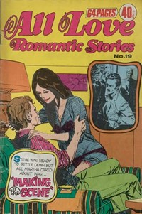 All Love Romantic Stories (KG Murray, 1974? series) #19 ([November 1976?])