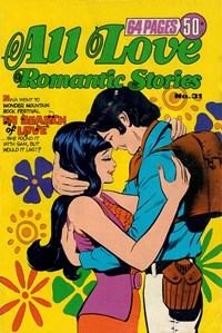All Love Romantic Stories (Murray, 1978 series) #31 — In Search of Love