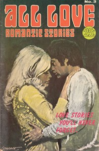 All Love Romantic Stories (Sport Magazine, 1972 series) #3 — Untitled