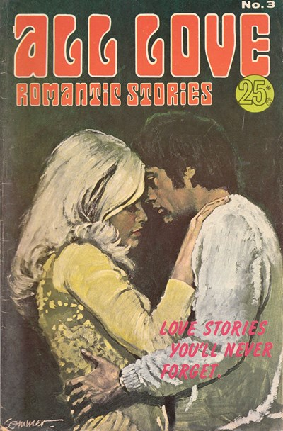 All Love Romantic Stories (Sport Magazine, 1972 series) #3 ([November 1972?])