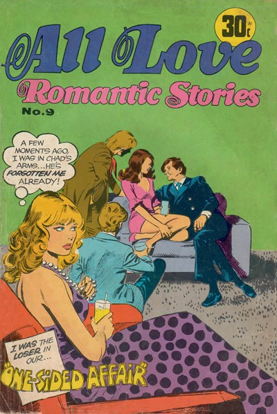 All Love Romantic Stories (Sport Magazine, 1972 series) #9 ([May 1974?])