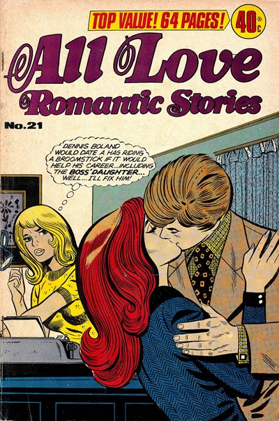 All Love Romantic Stories (KG Murray, 1974? series) #21 ([May 1977?])