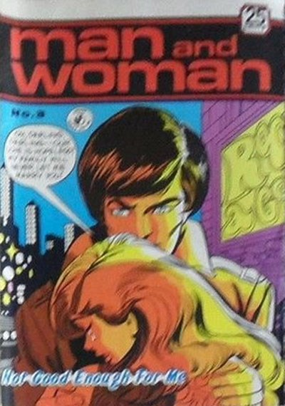 Man and Woman (Colour Comics, 1969? series) #3 ([April 1970?])