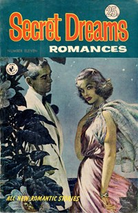 Secret Dreams Romances (Colour Comics, 1967 series) #11 — Untitled (Cover)