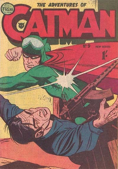 The Adventures of Catman (Frew, 1957 series) #9 ([1958?])
