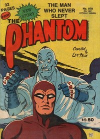 The Phantom (Frew, 1983 series) #979 — The Man Who Never Slept
