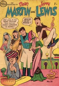 The Adventures of Dean Martin and Jerry Lewis (Frew, 1956 series) #30 ([June 1958?])