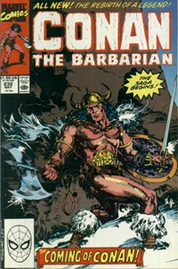 Conan the Barbarian (Marvel, 1970 series) #232 — The Coming of Conan