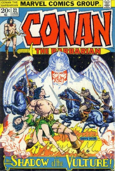 Conan the Barbarian (Marvel, 1970 series) #22 (January 1973)