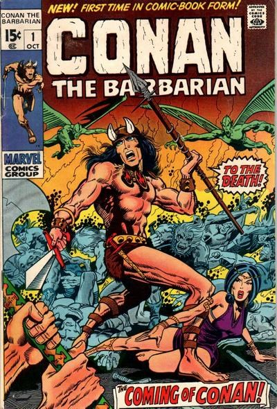 Conan the Barbarian (Marvel, 1970 series) #1 (October 1970)