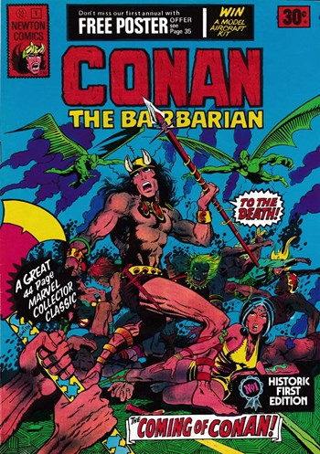 The Coming of Conan!