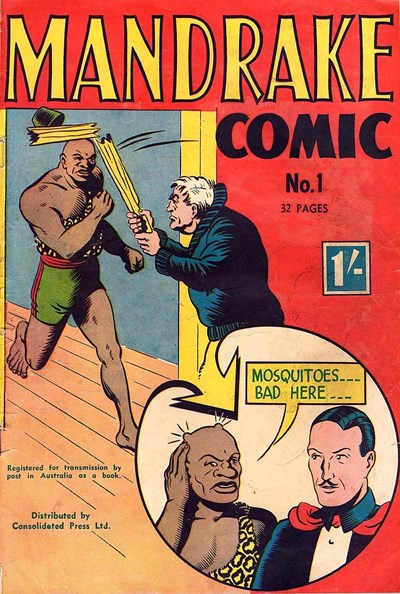 Mandrake Comic (Consolidated, 1953 series) #1 ([March 1953?])