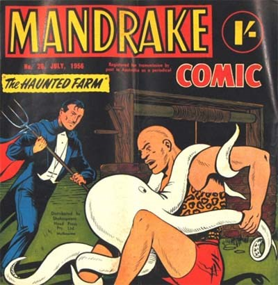 Mandrake Comic (Shakespeare Head, 1955 series) #20 (July 1956)