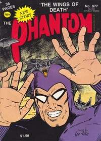 The Phantom (Frew, 1983 series) #977 — The Wings of Death