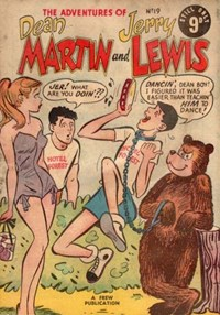 The Adventures of Dean Martin and Jerry Lewis (Frew, 1956 series) #19 ([July 1957?])
