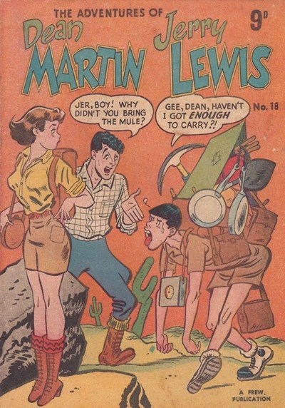 The Adventures of Dean Martin and Jerry Lewis (Frew, 1956 series) #18 ([1957?])