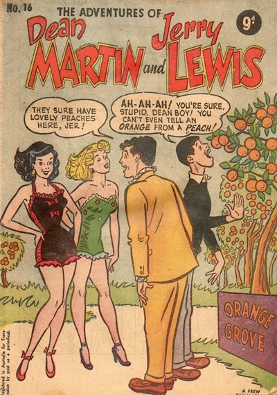 The Adventures of Dean Martin and Jerry Lewis (Frew, 1956 series) #16 ([May 1957?])