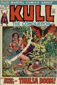 Kull the Conqueror (Marvel, 1971 series) #3 (July 1972)