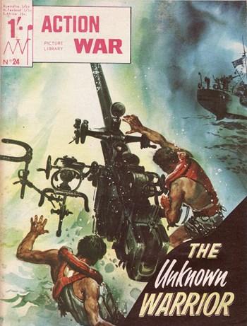 The Unknown Warrior—Action War Picture Library (MV Features, 1965 series) #24  ([June 1966?])