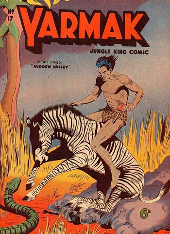 Yarmak Jungle King Comic (Youngs, 1949 series) #17 ([March 1951?])