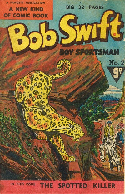 Bob Swift Boy Sportsman (Cleland, 1954? series) #2 ([1955?])